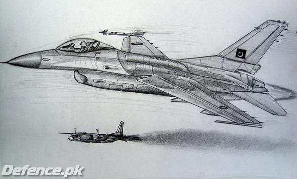 humza tariq's aviation art