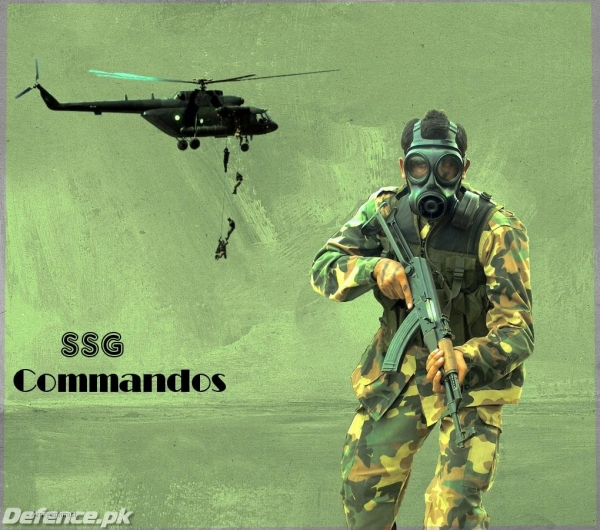 SSG commandos Wallpaper