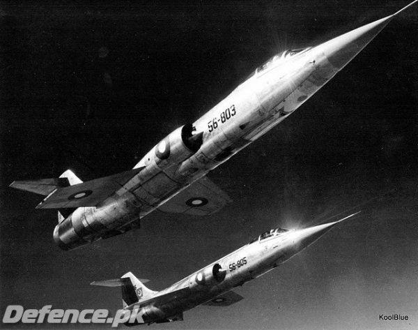 Lockheed_F-104_Starfighters