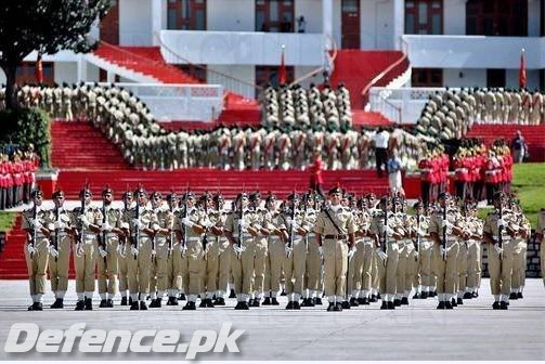 Passing Out Parade at PMA, Kakul