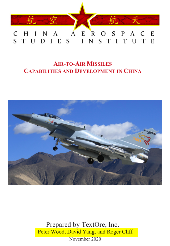 Air-To-Air Missiles Capabilities And Development In China - Peter Wood, David Yang, and Roger ...png