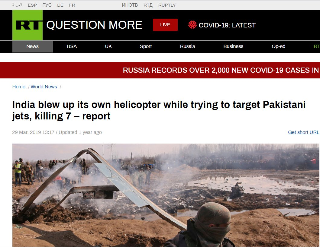Russia Today Laughing at India blowing up its own helicopter.jpg