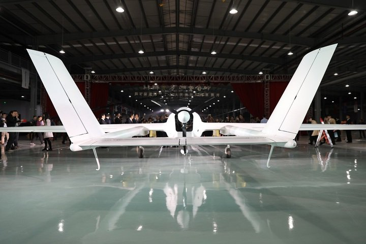 stealth drone  Tianying   a long-endurance unmanned aircraft that can fly under the radar.jpg