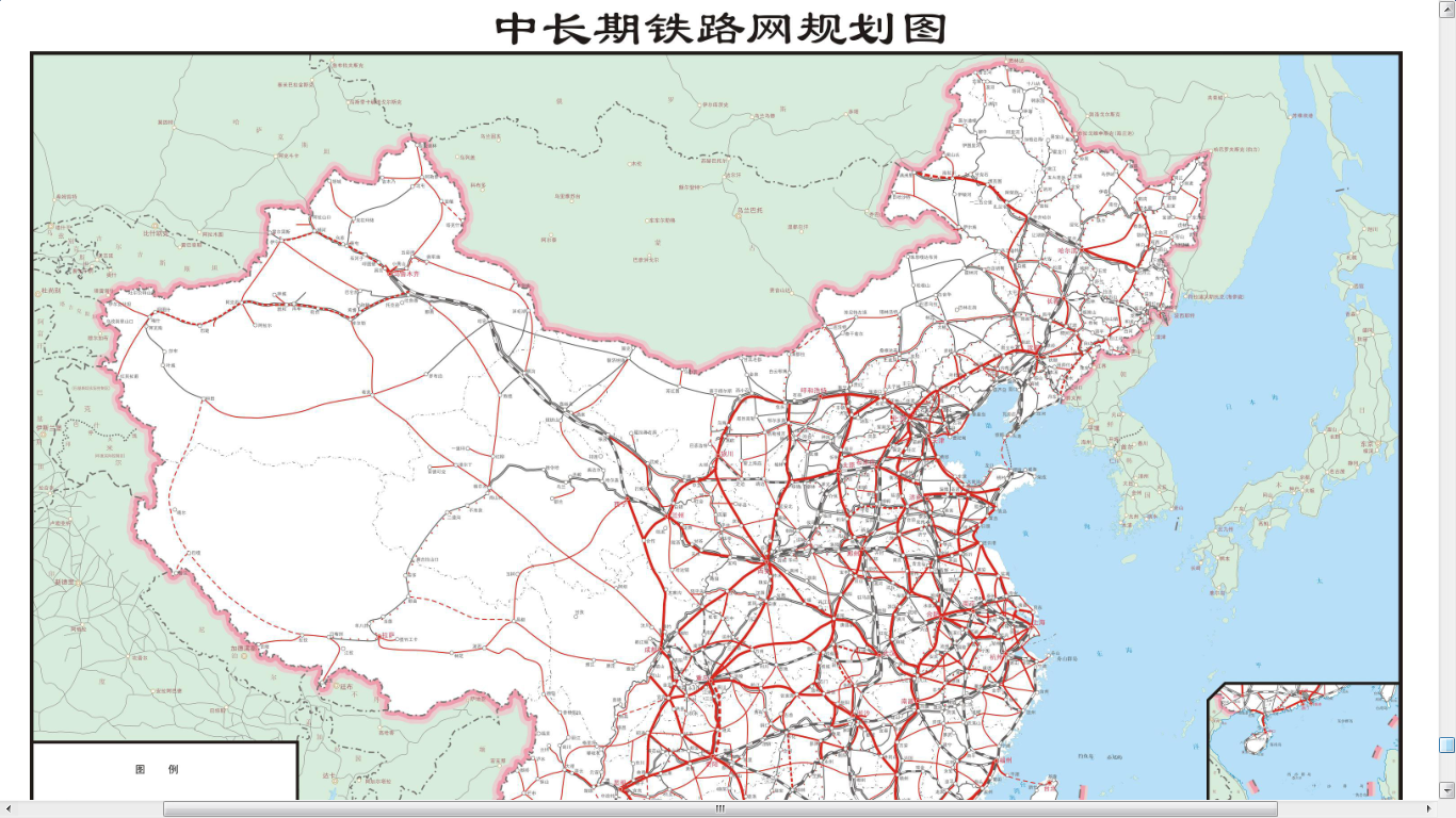 ChinaPakistan railway planning has emerged China railway map