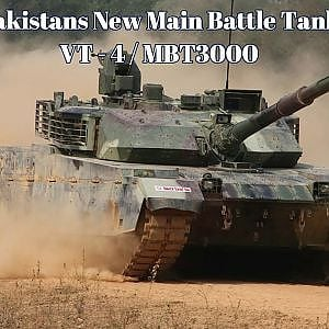 Pakistan Inducts New MBT VT 4 - YouTube