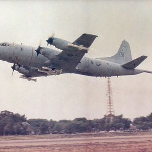 P-IIIC ORION WITH HARPOON MISSILE