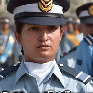 Aviation Cadet Saira Amin