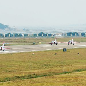 K-8 at Zuhai Air Show