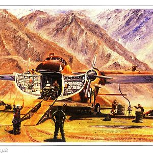 Old PAF Painting