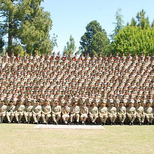 Passing Out parade of 123rd PMA Long Course,