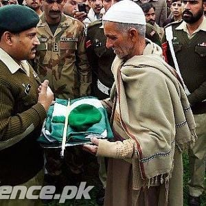 "Pakistan Army ""great father"""