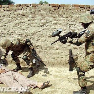 Pakistan Army Anti-Terrorist Exercise