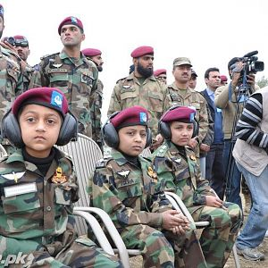 Pakistan Army SSG kids