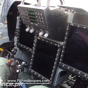 JF-17 Thunder,Cockpit Multi Functioning Displays.