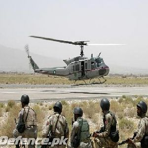 Special Operation Wing Commandos of Frontier Corps Balochistan during assau