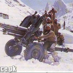 Troops in Siachen.