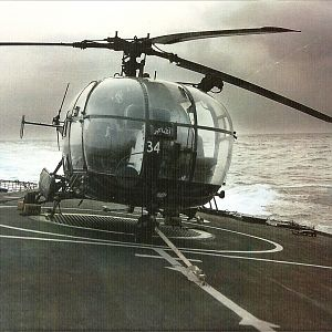 A BEAUTIFUL PIC OF AL AKA MACCHAR On FLight DEck