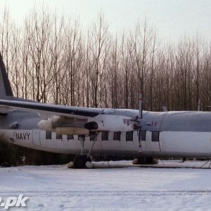 Fokker F-27 Shot in Nether Land in 1983 Conv to Martime Patrol Aircraft