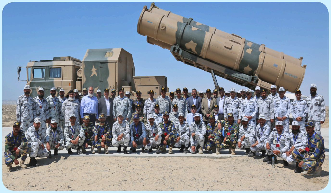 Pakistan Navy released pictures of Zarb anti-ship missile